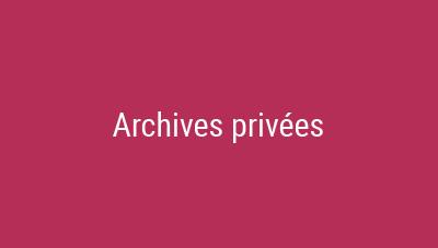 archives privées